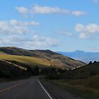 Driving South from Grace Idaho by Jan  Tribe