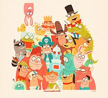 Storybook Gang by TheDrawbridge