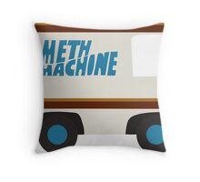 Meth Machine Throw Pillow