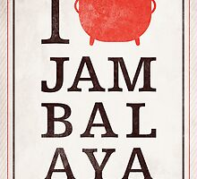 I Heart Jambalaya by 84reissue