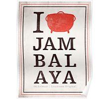 I Heart Jambalaya Poster