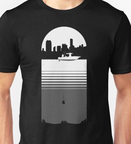 Slice of Life (White/Grey) Unisex T-Shirt