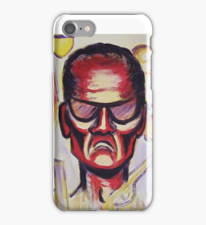 Security Guard by Suzanne Marie Leclair iPhone Case/Skin