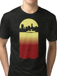 Slice of Life (Yellow/Red) Tri-blend T-Shirt