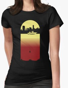 Slice of Life (Yellow/Red) Womens Fitted T-Shirt