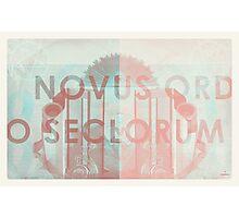 Novus Ordo Seclorum Photographic Print
