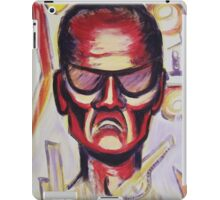 Security Guard by Suzanne Marie Leclair iPad Case/Skin