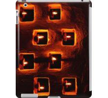 Handmade oil candles iPad Case/Skin