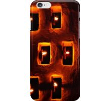 Handmade oil candles iPhone Case/Skin