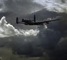 Bomber's moon: Lancasters at night by Gary Eason + Flight Artworks