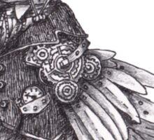 Steampunk Raven Sticker