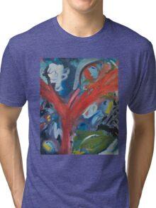 THE HAPPY GARDEN Tri-blend T-Shirt