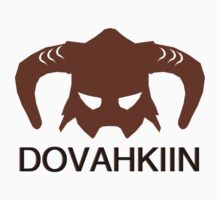 Skyrim: Dovahkiin - Design for Gamers by KenXyro