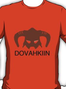Skyrim: Dovahkiin - Design for Gamers T-Shirt
