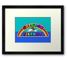 Rainbow Islands Framed Print