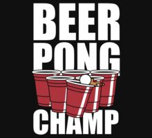 Beer Pong Champ by Look Human
