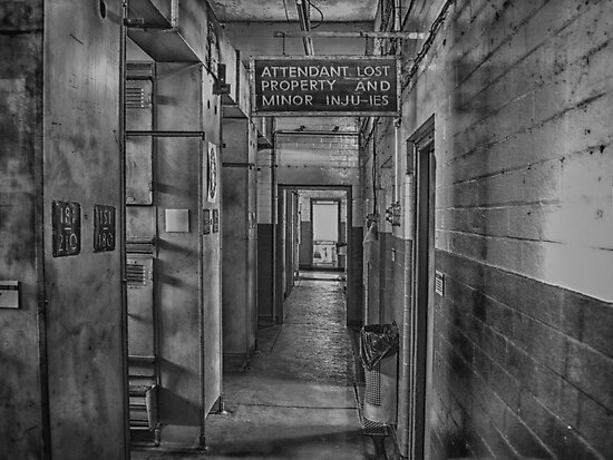 Showers at the Mine by Glen Allen