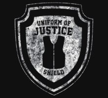 The Shield Uniform of Justice by TOPZtees