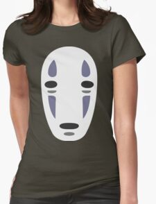 No Face - Spirited Away Womens Fitted T-Shirt
