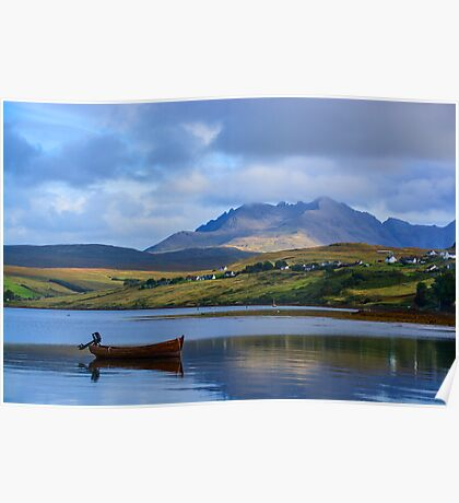 Loch Harport and the Cuillins 2 Poster