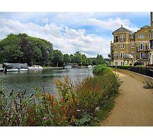 Riverside Walk. Photographic Print
