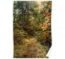 Flower walk Poster