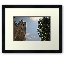 Washington National Cathedral 8 Framed Print