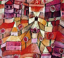 Paul Klee - Rose Garden by William Martin