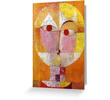 Paul Klee - Senecio Greeting Card