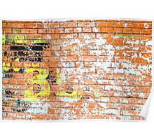 Brick Wall 2 Poster
