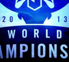 World Championship 2013 Sticker