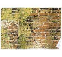 Brick Wall 3 Poster