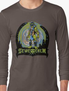 SewerRealm -Blue Long Sleeve T-Shirt