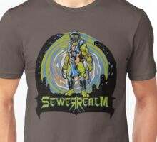 SewerRealm -Blue Unisex T-Shirt