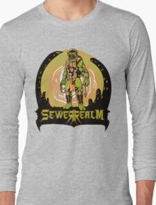 SewerRealm -Orange Long Sleeve T-Shirt