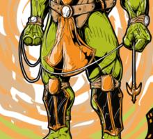 SewerRealm -Orange Sticker