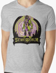 SewerRealm -Purple Mens V-Neck T-Shirt