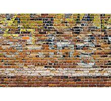 Brick Wall 4 Photographic Print