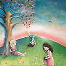 Friendship, Cartwheels and Flower Picking by Kristy Spring-Brown