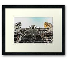 Angkor Wat Temple Framed Print