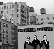 Depeche Mode : New York Water Tower by Luc Lambert