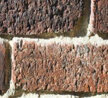 Vintage Bricks Sticker