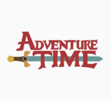 Adventure Time logo by jeice27