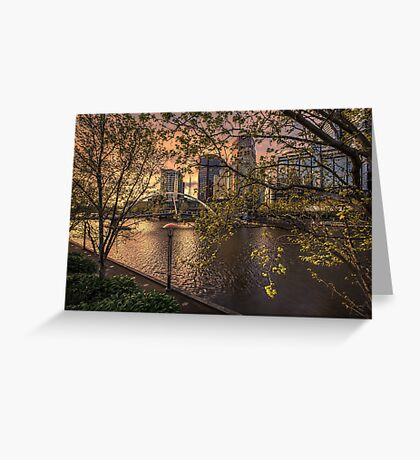 THE LEAVES ARE BACK Greeting Card