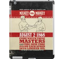 Showdown of a Couple of Centuries Ago iPad Case/Skin