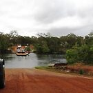 Waiting for the Jardine River Ferry by dozzam