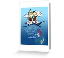 Sailor's Song - Fathoms Below Greeting Card