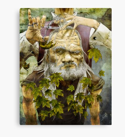 Shed Your Leaves Canvas Print