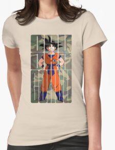 Osu ! Ora Gokuu !  Womens Fitted T-Shirt