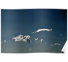 Tactile Clouds Poster